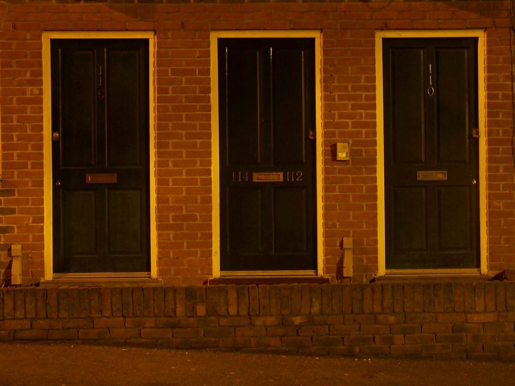... Three Doors at Night   by Thomas Euler & Three Doors at Night   Thomas Euler   Flickr
