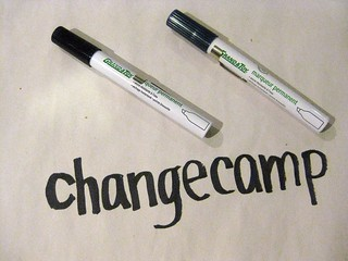 ChangeCamp, rough logo | by Matthew Burpee