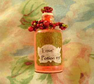 Miniature Altered Love Bottle | by Enchanticals ~I'm Coming Back