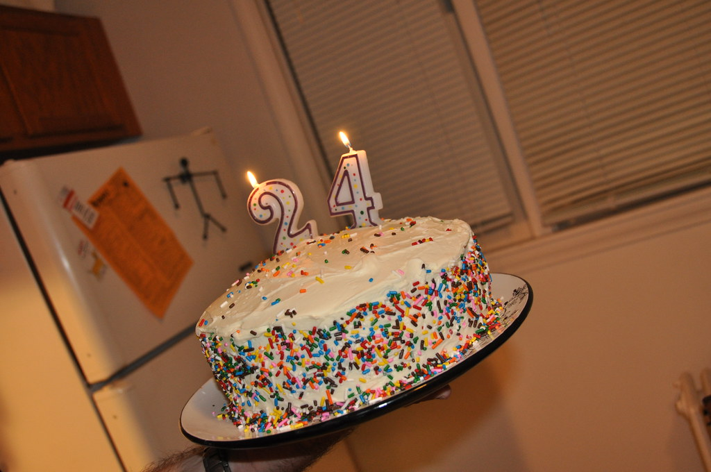 24th Birthday Cake Kyle James Flickr
