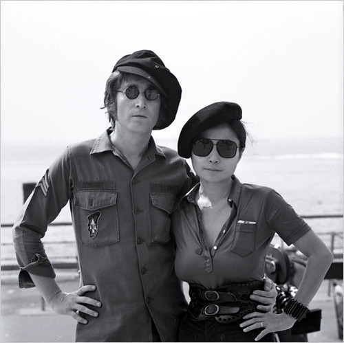 John Lennon and Yoko Ono, Battery Park, NYC | by Yoko Ono official
