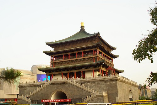 Xi'an Bell Tower | by kevsunblush