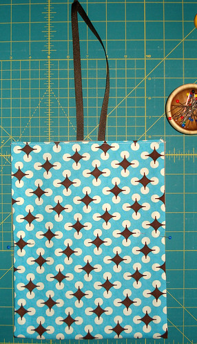 money bag - prep for stitching | by craftapple