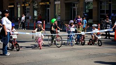 Long Beach Grand Prix, Little Kids Race, To The Starting Line | by Gary Rides Bikes