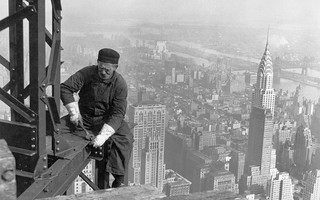 Man-made - New York City - Empire State Building worker | by Trodel
