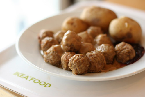 """Swedish Meatballs just like the ones at Ikea! Complete with a creamy Swedish meatball sauce, you'll LOVE this easy meatball recipe for a quick weeknight meal. Swedish Meatballs are a dish we collectively go gaga for every time we go to Ikea. The """"Ikea Meatballs"""" my kids refer to become the."""