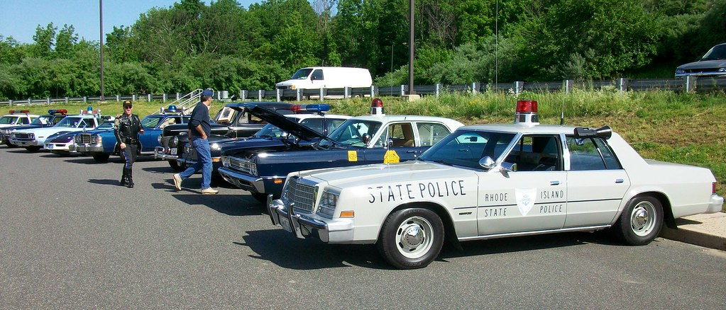 RI State Police Chrysler | Meriden CT State Police Academy C