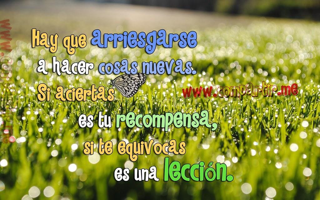 Frases De Amor Imagen Con Frase Positiva Para Reflexionar Flickr