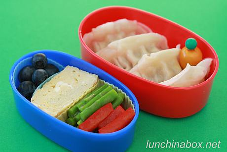 Potsticker and egg bento lunch for preschooler | by Biggie*