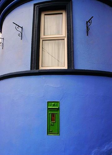 Victorian mailbox in Cobh