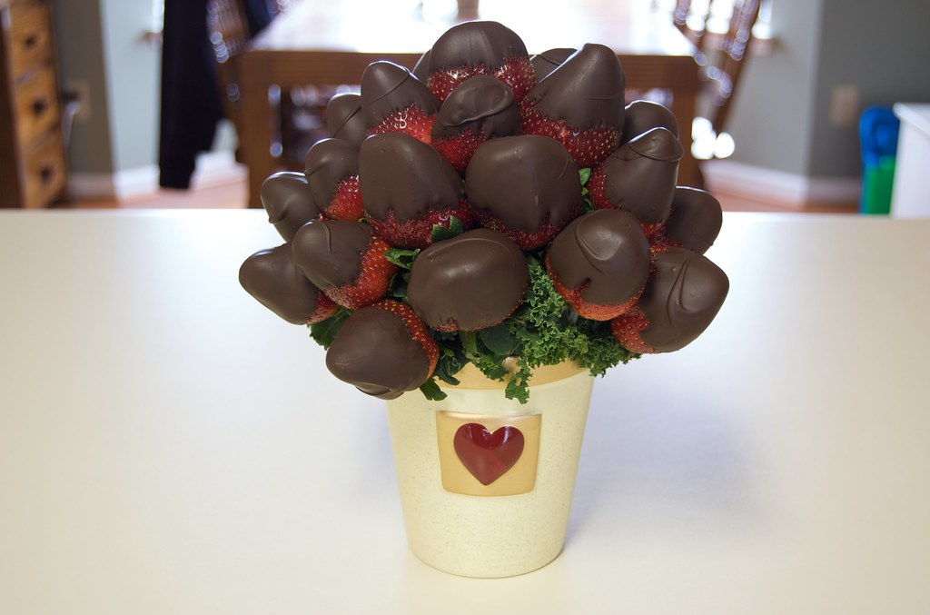 Sweetheart Bouquet | Chocolate covered strawberries from Edi… | Flickr