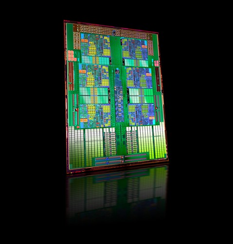 Six-Core AMD Opteron Processor Die Shot | by amd.unprocessed