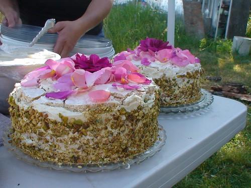 Chocolate Rose Water Cake