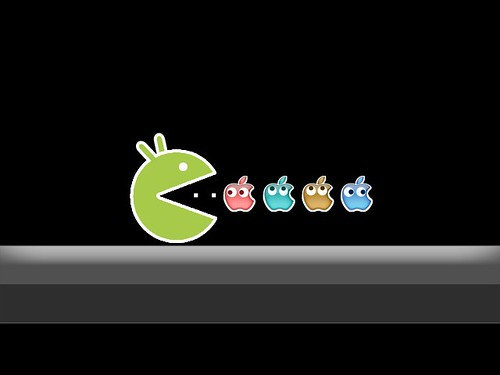 Android Eats Apple | by Jan Tik