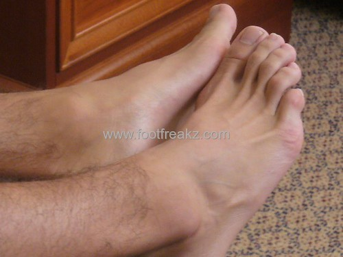 image Male on foot tickling at schools and boy