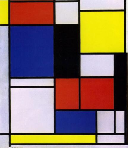 Mondrian Original Paintings