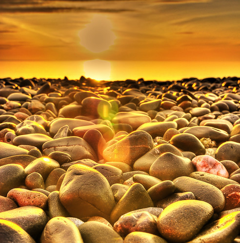 pebble sun | by Tommy McDermott