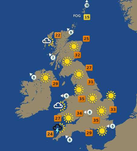 The United Kingdom Weather Forecast, August 10th 2003 | Flickr