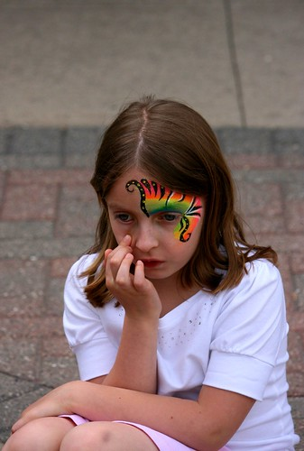 FacePaint Contemplation | by aceshigh22