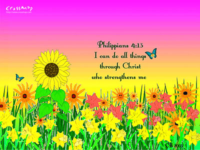 Christian Backgrounds Wallpaper Philippians 413 Flickr