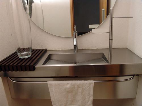 Lavabo en Acero Inoxidable. Diseño y fabricacion de Mueble ...
