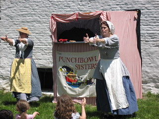 Punch & Judy Show at the Mabee Farm Market Faire | by SchenectadyCounty