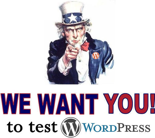 We want you to test WordPress | by bi0xid