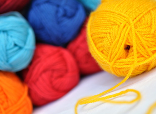 colorful yarn | by Ravenhill Designs