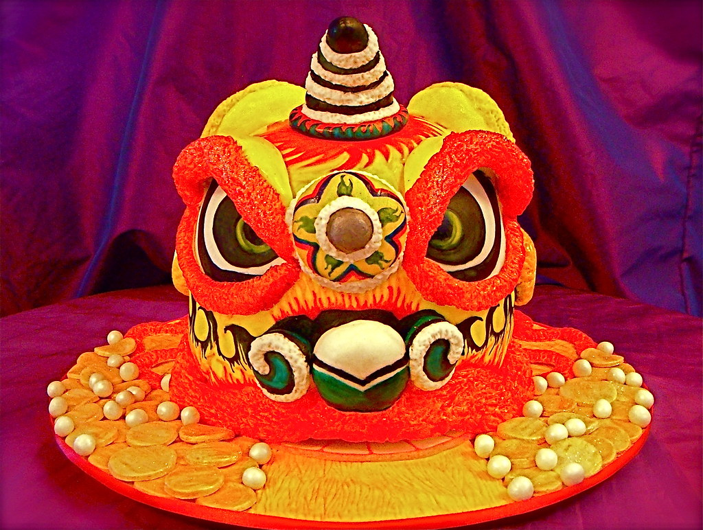 Lion Dance cake The Ladygloom Flickr