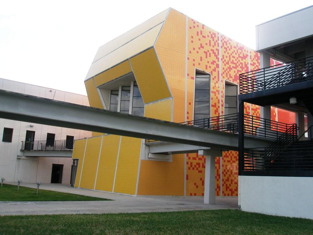 ... School Of Architecture, Library, FIU (Florida International University),  Coral Gables Miami