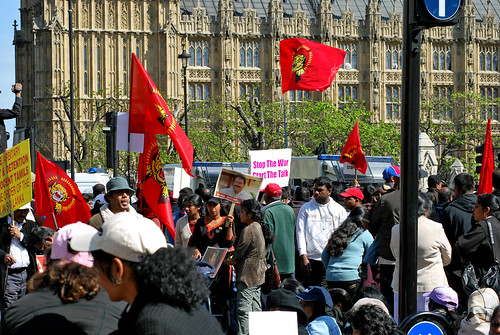 Tamil Protest, London | by Travis Pictures