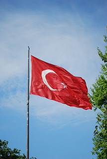 The Turkish flag | by Chadica