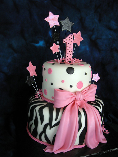 Pink Zebra Birthday | by Elegant Cake Creations AZ