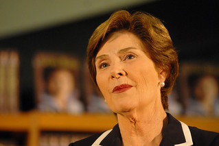 Laura Bush 5.20.10 | by slcl events
