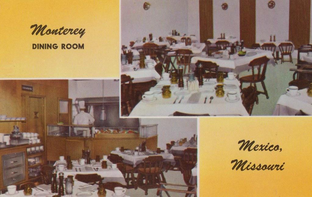 Monterey Motel & Restaurant - Mexico, Missouri