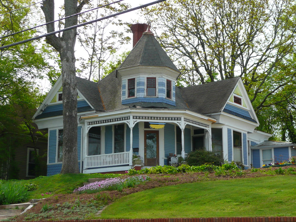 Atlanta GA Grant Park North Historic District Victorian Cottage
