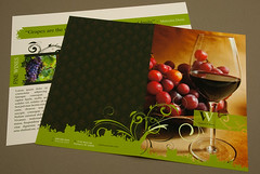 Elegant Winery Brochure | by inkdphotos