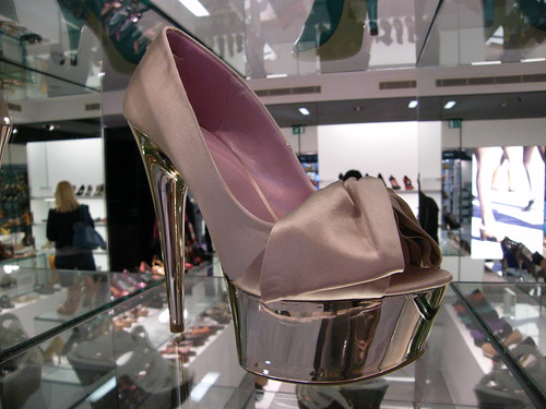 Luxury shoes candid @ Kurt Geiger store in Canary Wharf, London, England, United Kingdom, anyone up for jogging? Enjoy the magic!:) | by || UggBoy♥UggGirl || PHOTO || WORLD || TRAVEL ||