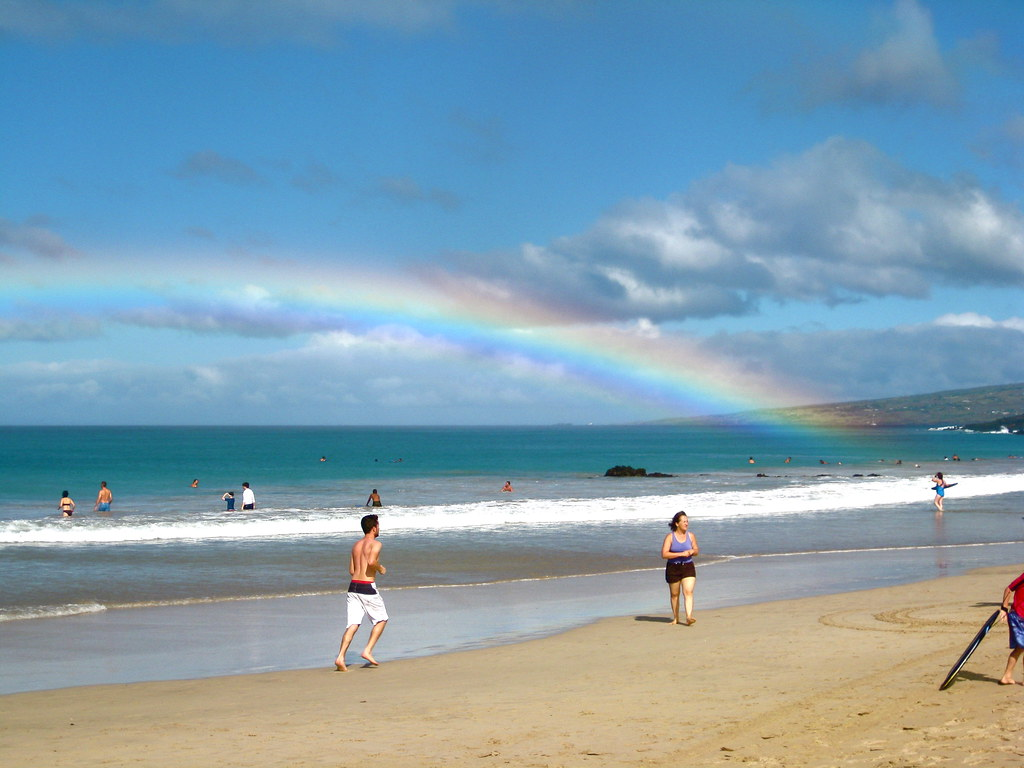End of the rainbow, Hawaii