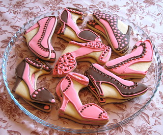Stiletto & Slingback Shoe Cookies | by Whipped Bakeshop