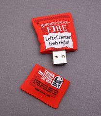 Taco Bell Border Sauce USB Drive | by CustomUSB.com