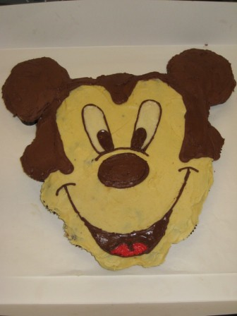 Pull Apart Mickey Mouse Cupcake Cake Pull Apart Cake