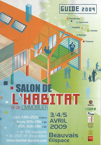 Guide salon de l 39 habitat beauvais 2009 70000 exemplaires for Salon de l habitat laval