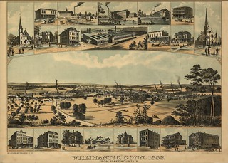 View of Willimantic, Conn. 1882. | by uconnlibrariesmagic