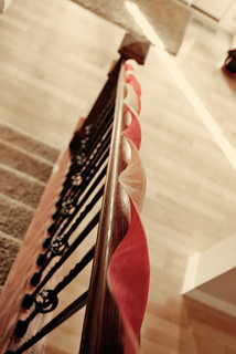 pink on the stairs | by I Should Be Folding Laundry