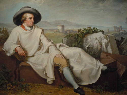 Painting of Goethe