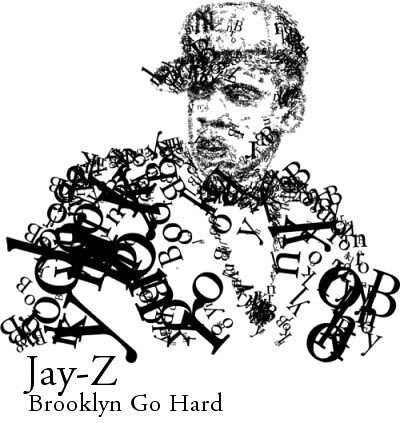 Design Blog Sociale - 7th January 2009 - Evan Roth Typographic Illustration for Jay-Z video | by SOCIALisBETTER