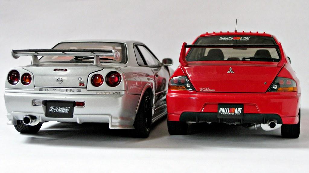 Nissan Skyline Gt R R34 Nismo Z Tune 2005mitsubishi Lan Flickr