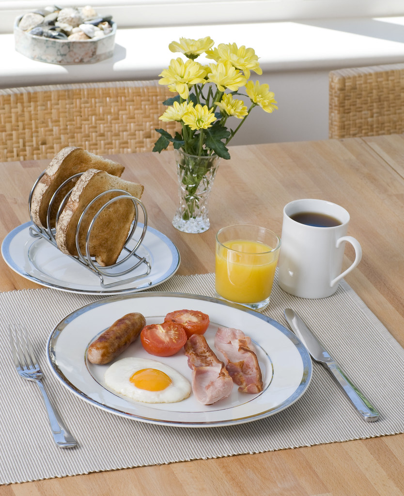 Breakfast Table Setting | A Formal English Breakfast Setting… | Flickr