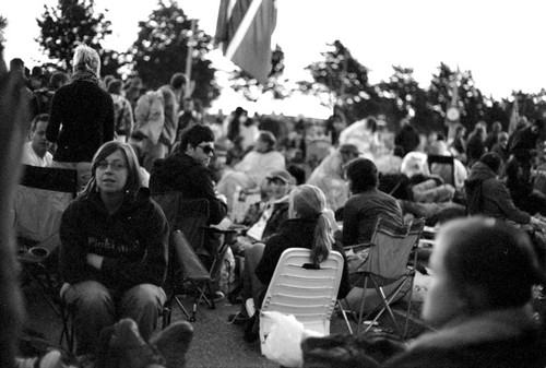 Pinkpop 2009: Waiting to enter Campsite A early in the morning | by matthijs rouw
